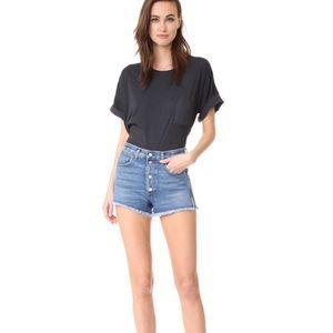 RAG & BONE 'Lou' Button Fly Shorts